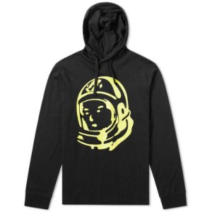 "BILLIONAIRE BOYS CLUB - Moletom Helmet Hooded ""Black"""