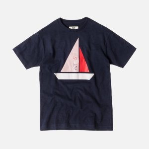 "KITH - Camiseta Full Sail ""Navy"""