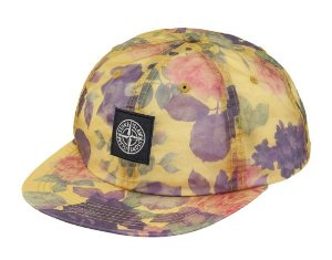"Supreme x Stone Island - Lamy 6-Panel ""Yellow"""