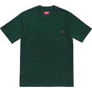 "SUPREME - Camiseta Pocket ""Green"""