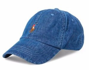 "Polo Ralph Lauren - Boné Denim Baseball ""Blue"""