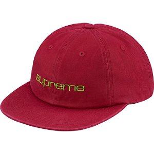 "SUPREME - Boné Compact Logo 6-Panel ""Red"""