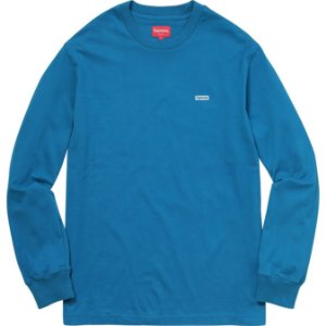 "SUPREME - Camiseta Metallic Box Logo ""Blue"""
