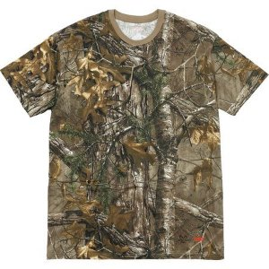 "Supreme - Kit com 2 Camisetas Hanes Realtree ""Camo"""
