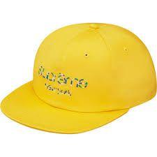 SUPREME - Boné Twill Classic Logo ''Yellow''