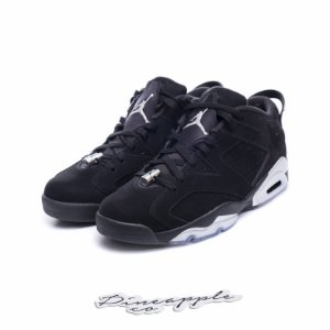 "Nike Air Jordan 6 Retro Low ""Chrome"""
