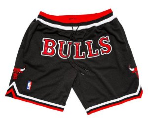 "Just Don - Bermuda Chicago Bulls ""Black/Red"""
