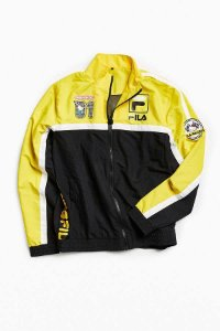 "Fila x Sanrio - Jaqueta Racing Hello Kitty ""Yellow"""