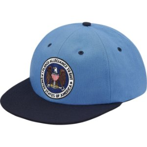 "SUPREME - Boné Pledge Allegiance 6-Panel ""Blue"""