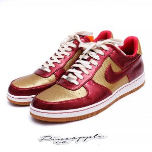 "Nike Air Force 1 Downtown ""Iron Man"""