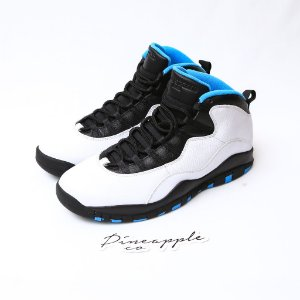 "Nike Air Jordan 10 Retro ""Powder Blue"""