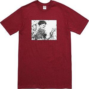 "Supreme x Akira - Camiseta Arm ""Cardinal"""