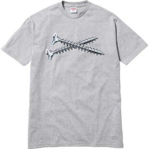 "SUPREME - Camiseta Screw ""Grey"""