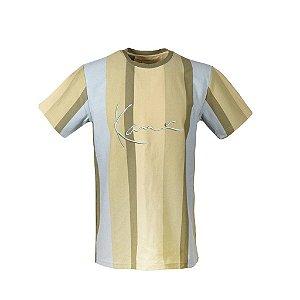 "KARL KANI - Camiseta Gate Ave. Rugby ""Khaki/Bege"""