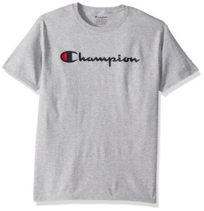 "CHAMPION - Camiseta Champion Script ""Grey/Black"""