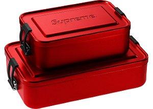 """ENCOMENDA - SUPREME - Caixa Pequena SIGG Metal Plus """"Red"""""""