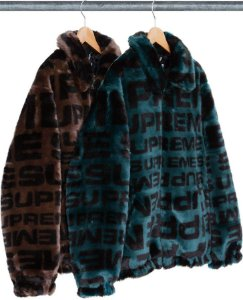 ENCOMENDA - SUPREME - Jaqueta Faux Fur Repeater