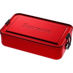 """SUPREME - Caixa Grande SIGG Metal Plus """"Red"""""""