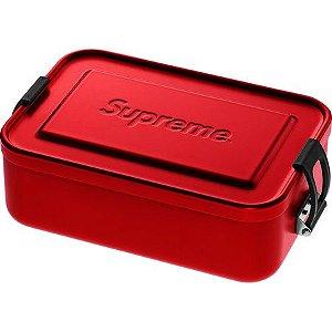 "SUPREME - Caixa Pequena SIGG Metal Plus ""Red""a"