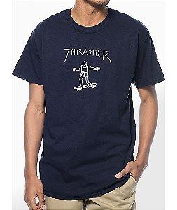 """THRASHER - Camiseta Gonz """"Navy"""""""