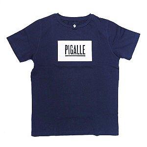 "PIGALLE - Camiseta Logo ""Navy"""