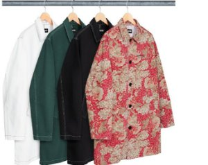 ENCOMENDA - SUPREME - Washed Work Trench Coat