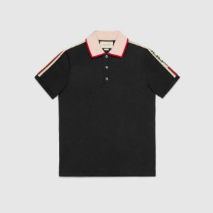 "GUCCI - Camiseta Gucci Stripe ""Black"""