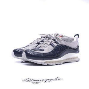 "Nike Air Max 98 x Supreme ""Obsidian"" -NOVO-"