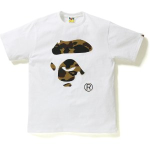 "BAPE - Camiseta Reflector 1st Face Camo Face By Bathing ""White"""