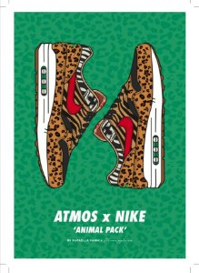 POSTER - Air Max 1 Atmos Animal Print (SEM MOLDURA)