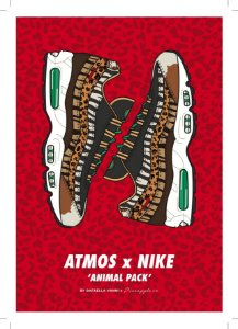 POSTER - Air Max 95 Atmos Animal Print (SEM MOLDURA)