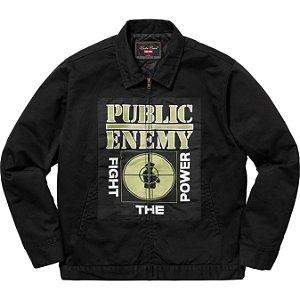 ENCOMENDA - Supreme x UNDERCOVER x Public Enemy - Jaqueta Work