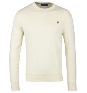 "Polo Ralph Lauren - Moletom Basic ""Cream"""