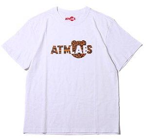 """Atmos x BE@RBRICK - Camiseta Atmos Labs Logo """"White"""""""