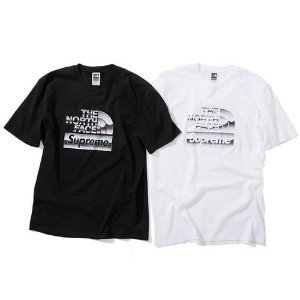 ENCOMENDA - Supreme x The North Face - Camiseta Metallic Logo