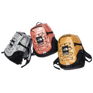 ENCOMENDA - Supreme x The North Face - Mochila Metallic Borealis