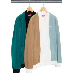 ENCOMENDA - SUPREME - Jaqueta Velour Zip Up