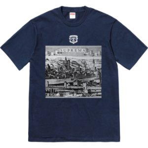 "SUPREME - Camiseta Fiorenza ""Navy"""