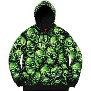 """SUPREME - Moletom Skull Pile """"Green"""""""