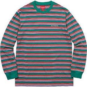 "SUPREME - Camiseta Multi Stripe ""Green"""