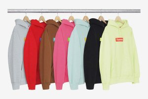 ENCOMENDA - SUPREME - Moletom Box Logo (FW17)