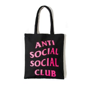 "ANTI SOCIAL SOCIAL CLUB - Bolsa logo ""Black"""