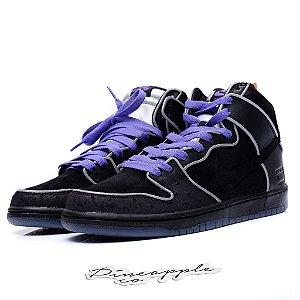 "Nike SB Dunk High ""Black/Purple Box"""