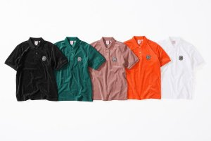 ENCOMENDA - Supreme x Lacoste - Camiseta Polo Velour