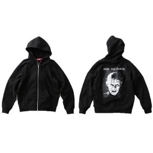 ENCOMENDA - Supreme x Hellraiser - Moletom Pinhead Zip Up