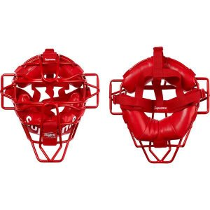 "ENCOMENDA - Supreme x Rawlings - Máscara Catcher's ""Red"""