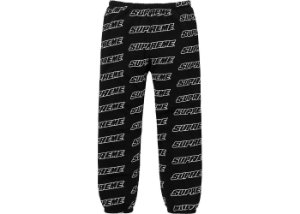 ENCOMENDA - SUPREME - Calça Repeat Zip Up