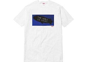 """Supreme x Scarface - Camiseta Blimp """"White"""""""