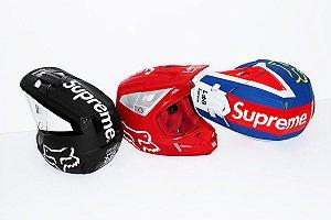 ENCOMENDA - Supreme x Fox Racing - Capacete V2