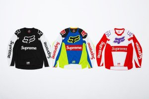 ENCOMENDA - Supreme x Fox Racing - Camisa Jersey Moto Top